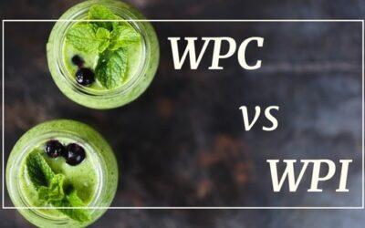 Białko WPH, WPC czy WPI – Różnica – Kiedy stosować?