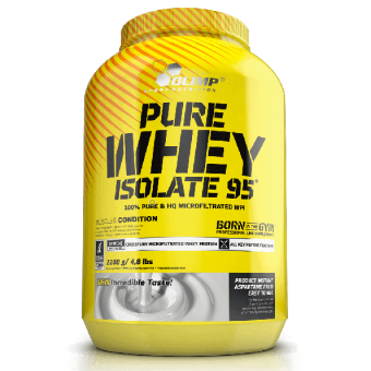białko pure whey isolate 95 olimp